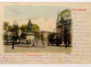 Christiania, Wergelandsstatuen