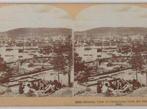 Utsikt over Christiania fra Ekeberg (1903)