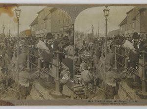 Fiskehavna i Bergen (1900)