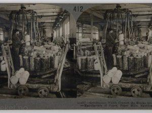 Skotfoss Bruk ved Skienselva – Slipesteiner, Nord-Europas største papirfabrikk