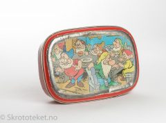 Lunsjboks – Walt Disney, Snehvit og de syv dverger