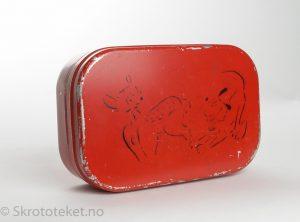 Lunsjboks – Walt Disney, Bambi og pluto