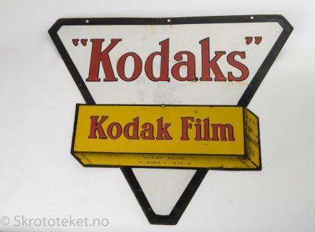 Kodak Film Porcelain Sign - Skrototeket.no
