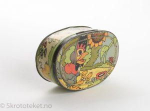 Lunsjboks fra Kiellands – Hønemor med sine små kyllinger, Walt Disney – Foblik