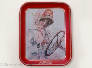 Coca Cola – Serveringsbrett fra 1960-tallet