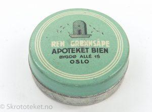 Ren Grønnsåpe, Apoteket Bien, Bygdø Allè 15, Oslo