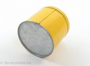 Shell – Boks med lagerfett (Gris)