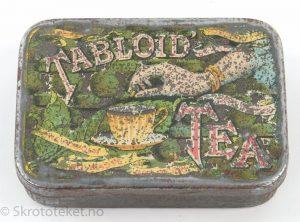 Tabloid Tea, Burroughs Wellcome