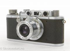 Leitz, Leica IIIa (Mod G) Chrome (1936)
