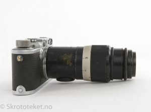 Leitz Hektor 135mm / f4.5 – Black/Chrome (1946)