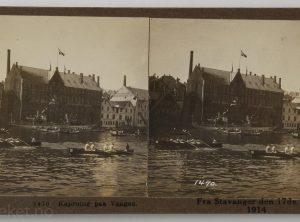 Kaproing paa Vaagen – Stavanger den 17de Mai 1914