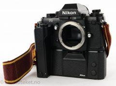 Nikon F3 med MD-4 motor (1983)