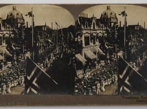 Barnetoget – Kroningen av Haakon VII , Trondheim