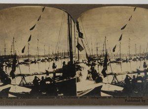 46. Kaptein Amundsen ankommer til Christiania etter oppdagelsen af Nordvest Passagen