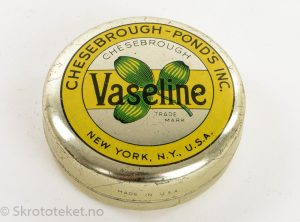 VASELINE – Chesebrough Pond`s Inc., New York, USA