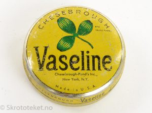 VASELINE – Chesebrough Pond`s Inc., New York- Made in USA