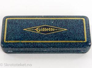 Gillette – Boks for barberhøvel med 2 stk DORITA barberblader