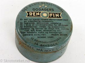REN O FIN – J. M. GODAGER – Såpefabrikk, OSLO