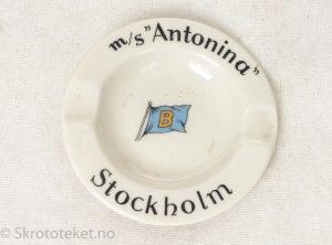 Askebeger m/s Antonina Stockholm