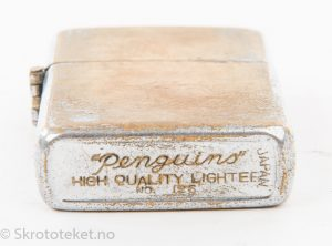 Bensinlighter Penguins No 126