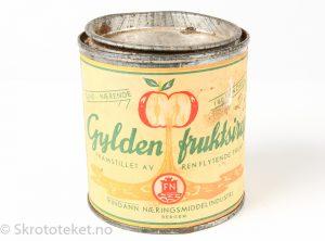 Boks med Gylden fruktsirup