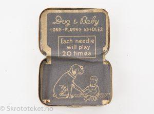 Dog & Baby – Grammofonstifter