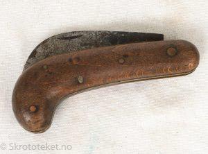 Foldekniv (krokkniv) fra 1920-tallet