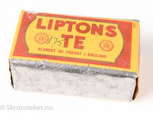 Liptons Te – Kvalitet No. 1