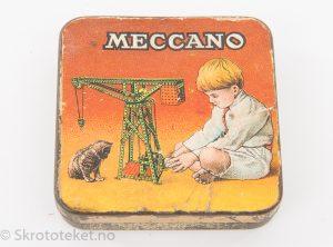 Meccano – Deler til heisekran
