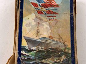 Kortstokk fra Den Norske Amerikalinje