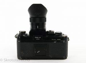 Nikon F3 med DW-4 søker (1982)