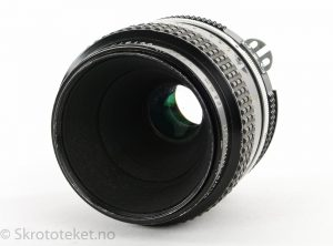 Nikon 55mm f3.5 Micro-Nikkor (AI, black)
