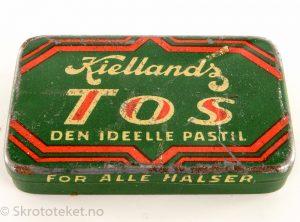 TOS fra Kiellands dropsfabrikk