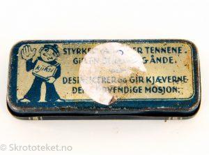 Kjiksi tyggegummi – Sannem bliktrykk, Bergen