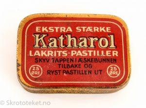 KATHAROL Lakrits-pastiller