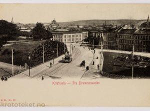 Kristiania – Fra Drammensveien