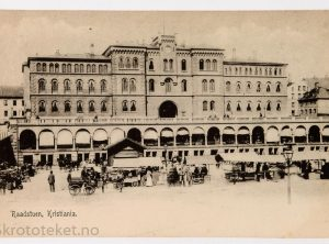 Raadstuen, Youngstorget – Kristiania