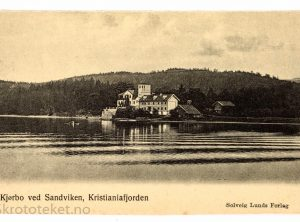 Kjørbo ved Sandviken, Kristianiafjorden