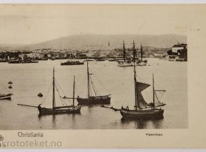 Christiania, Pipervika – Det britiske flåtebesøket 1908
