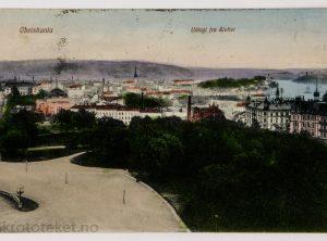 Christiania – Udsigt fra Slottet