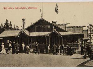 Sportsstuen Holmenkollen, Christiania