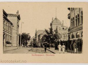 Storthingsgaden, Christiania