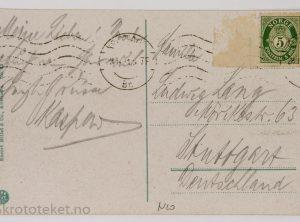 Kristiania, Stortingsgaten, Nationalteateret og Slottet