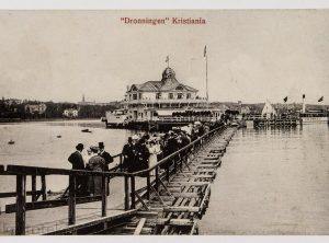 Dronningen, Kristiania