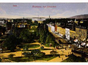 Oslo – Kristiania, Carl Johans-gate