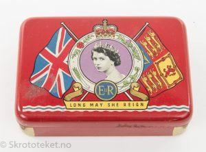Souvenir fra kroningen av Dronning Elisabeth II av England