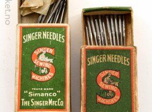 SINGER – Symaskin-nåler