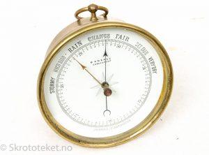 Skipsbarometer, Bonsall Lowestoft