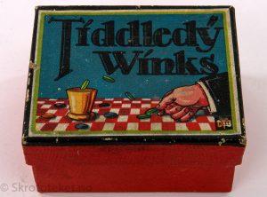 Tiddledy Winks – Strategispill fra 1930-tallet