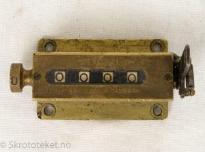 DUX 1 – Telleapparat fra DUX fabriken i Danmark